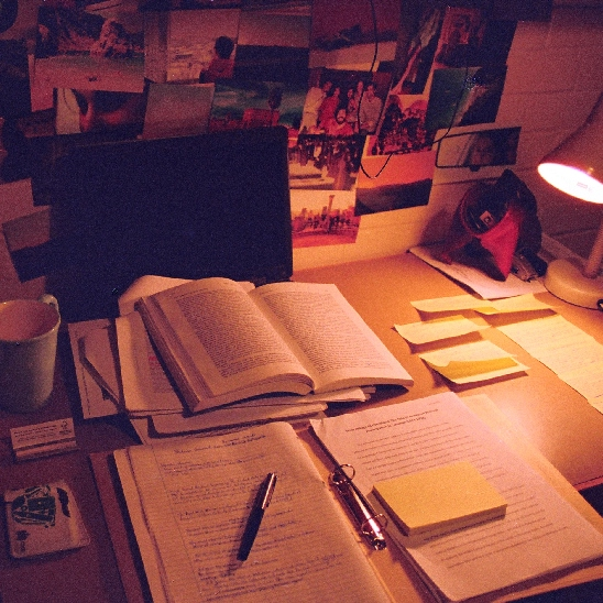 Stay Calm and Study