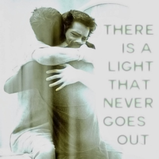 there is a light that never goes out.