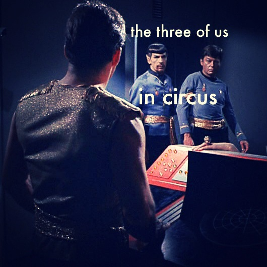 The Three of Us in Circus