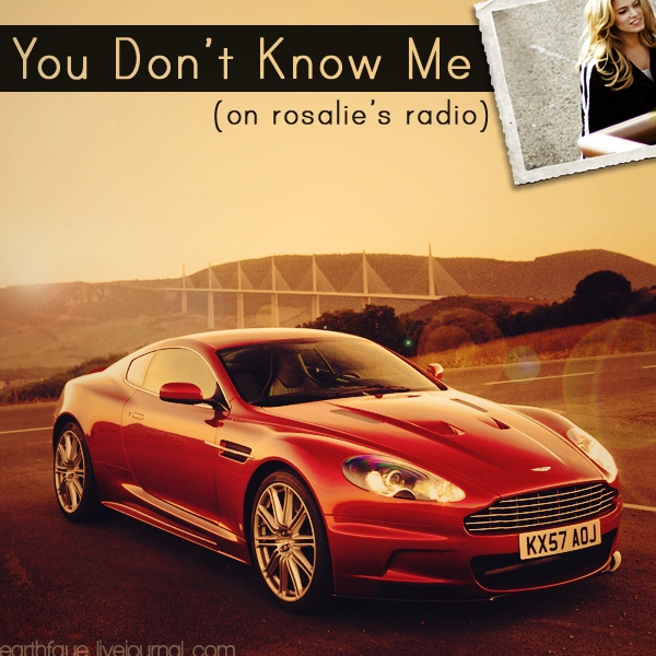 You Don't Know Me (On Rosalie's Radio)