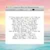Songs For When You're Missing Someone