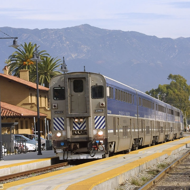 Surfliner to Union Station