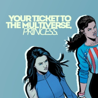 your ticket to the multiverse, princess.