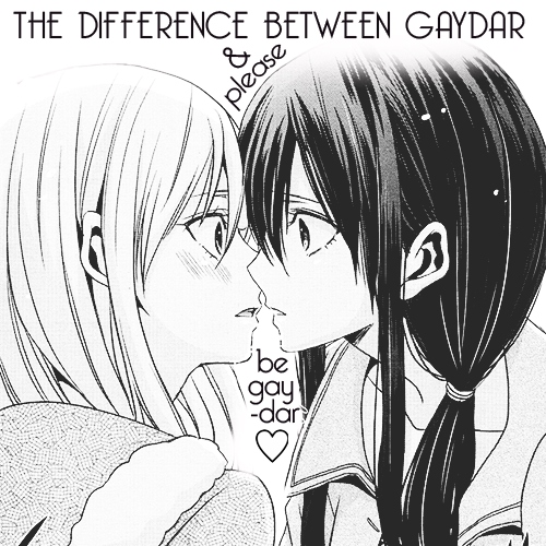 the difference between 'gaydar' and 'please-be-gay-dar'
