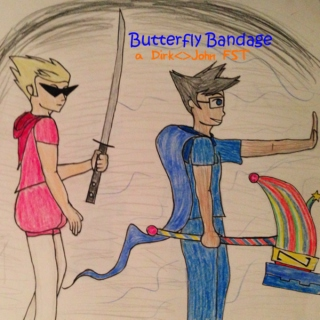 Butterfly Bandage - Dirk and John