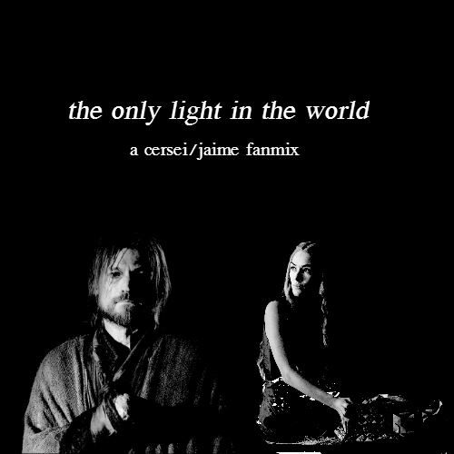 the only light in the world
