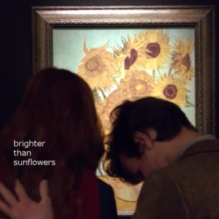 brighter than sunflowers;