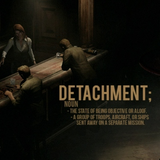 detachment;