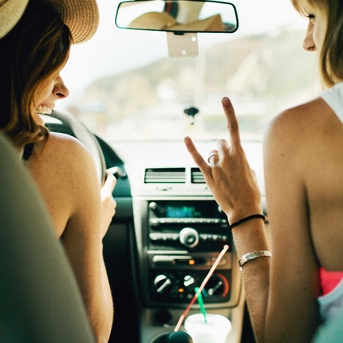 roadtrip with the girls