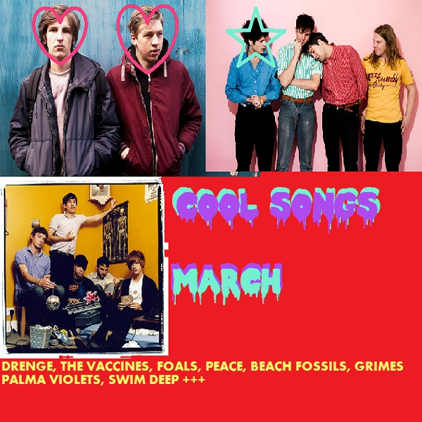COOL SONGS 3/14