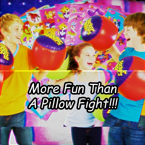 More Fun Than A Pillow Fight