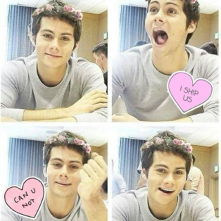 roses are red, violets are blue, i like dylan o'brien more than i like you
