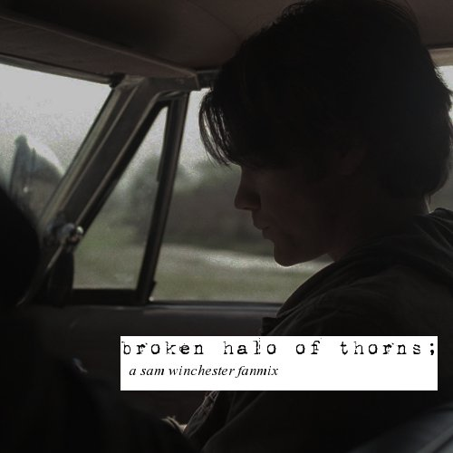 broken halo of thorns;