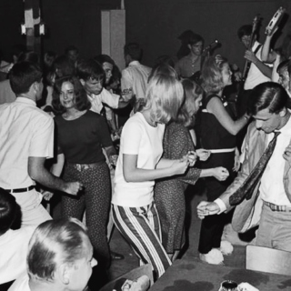 a party night in 1965