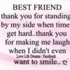 For my Best Friend