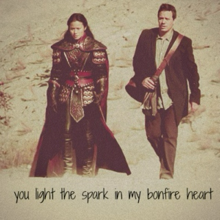 you light the spark in my bonfire heart