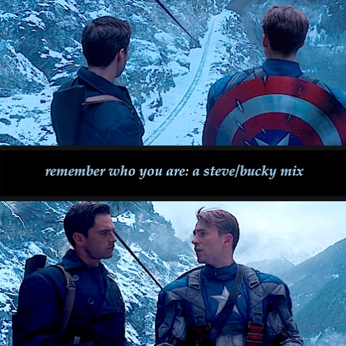 remember who you are: a steve/bucky mix