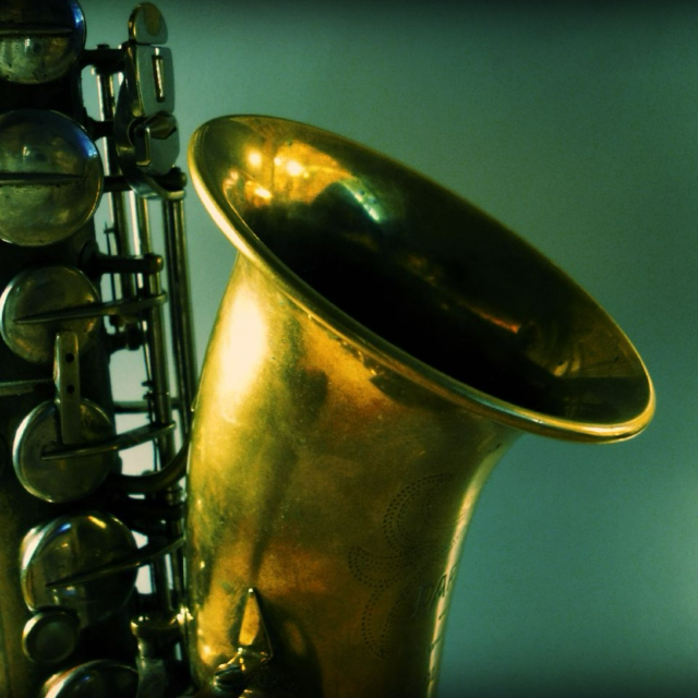 The sound of the sax