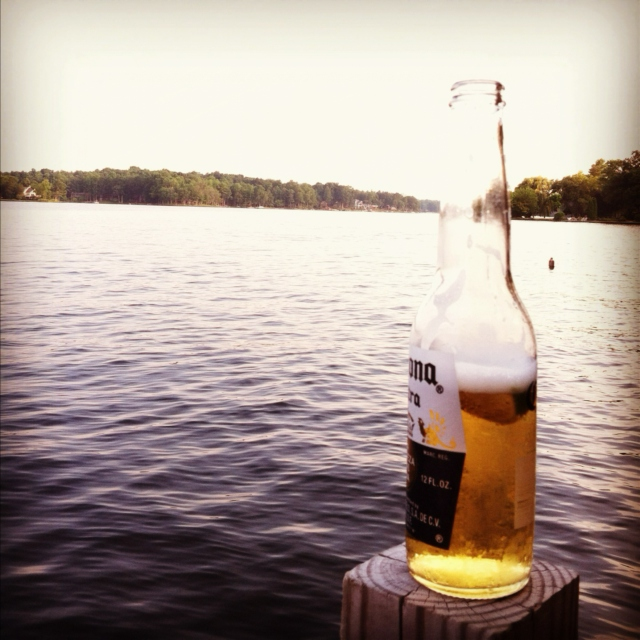 Beer by the Lake