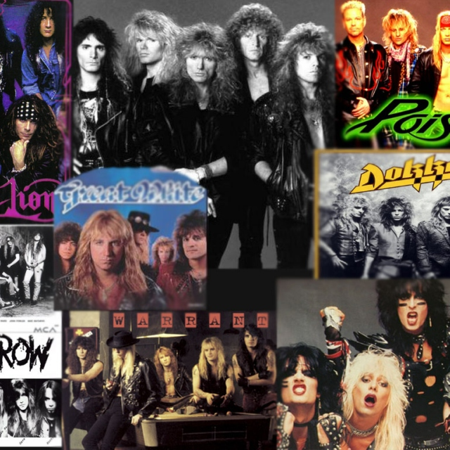 Heavy/Glam/Sleaze/Hair Metal & Hard Rock vol. 29
