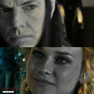 """Though healed in body by Elrond, lost all delight in Middle-earth."""