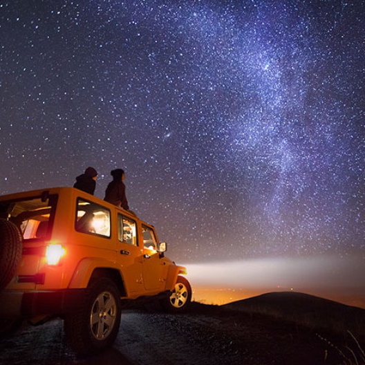 Under a Blanket of Stars