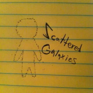 Scattered Galaxies (A Mix About Me)