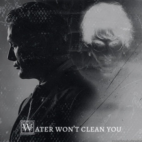Water won't clean you