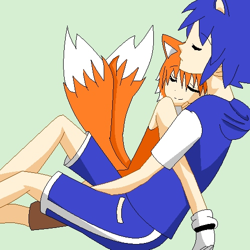 You're my savior (A Sonic x Tails FST)