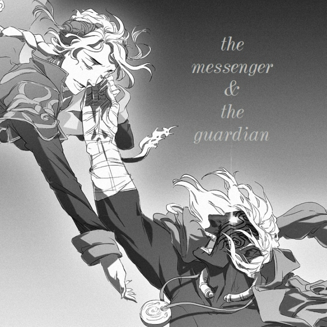 the messenger & the guardian