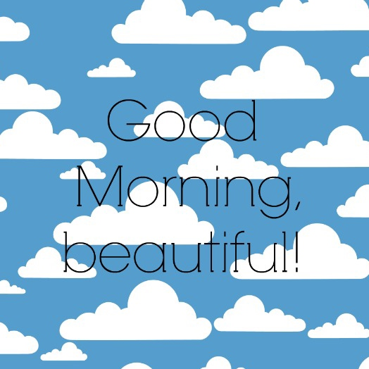 Let's have a good day!