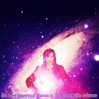 The Most Important Woman In The Whole Wide Universe [a Donna Noble fanmix]