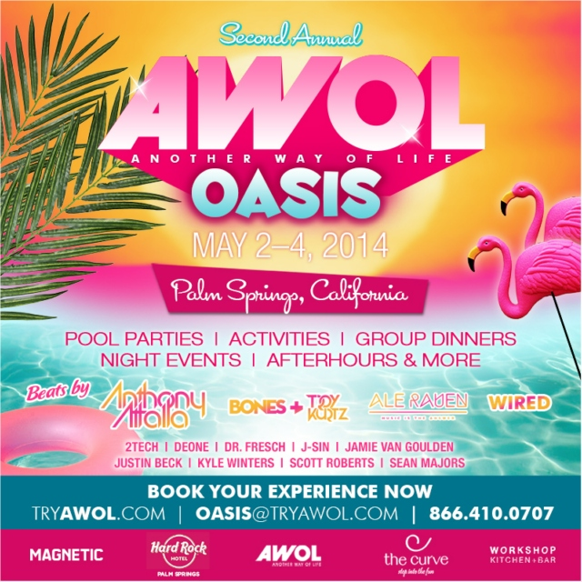 AWOL Oasis 2014 - Preview Mix
