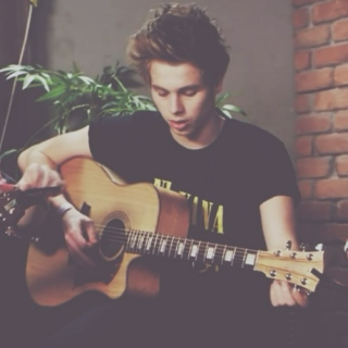 luke, his guitar, and you