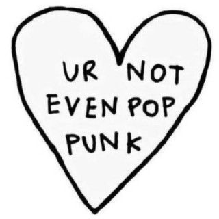 that wasn't very pop punk of u
