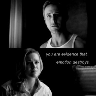 emotion destroys.