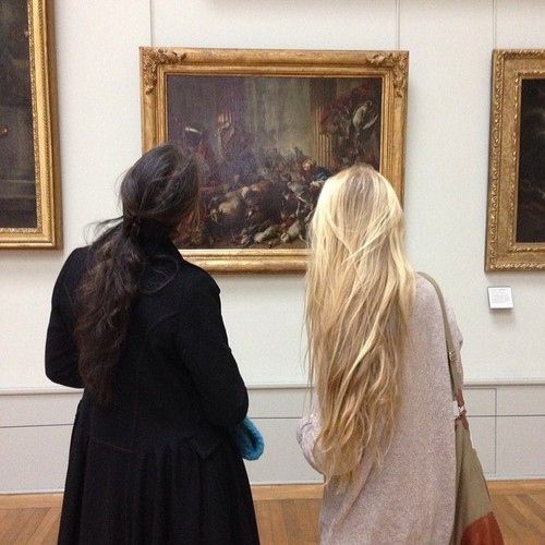 An afternoon at the gallery