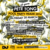 All Gone Pete Tong Pool Party Playlist