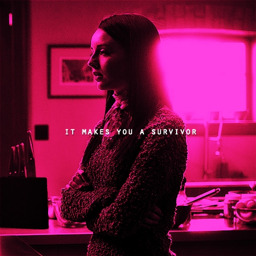 it makes you a survivor