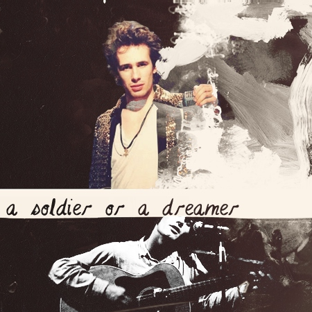 a soldier or a dreamer
