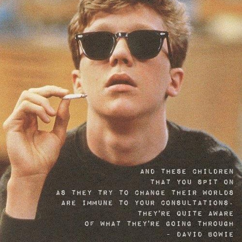 Yours Sincerely, the breakfast club..