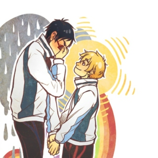Brighter Than The Sun: Rei x Nagisa