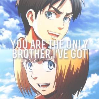 you are the only brother i've got
