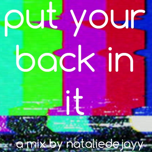 Put your back in it