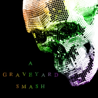a graveyard smash; a halloween party mix