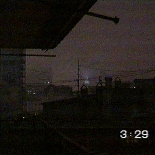 chain smoking on a roof at three am (in deep summer)