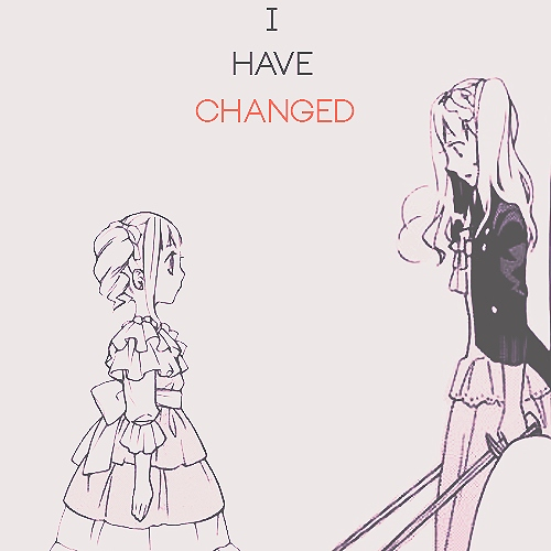 I have { CHANGED }