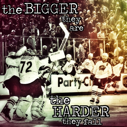 the bigger they are, the harder they fall