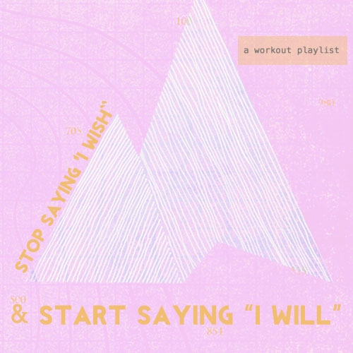 "START SAYING ""I WILL"""