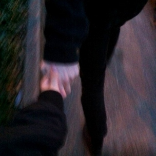 Take my hand, don't ever let it go